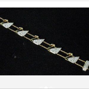 Swarovski Pavé Swan Crystal Bracelet